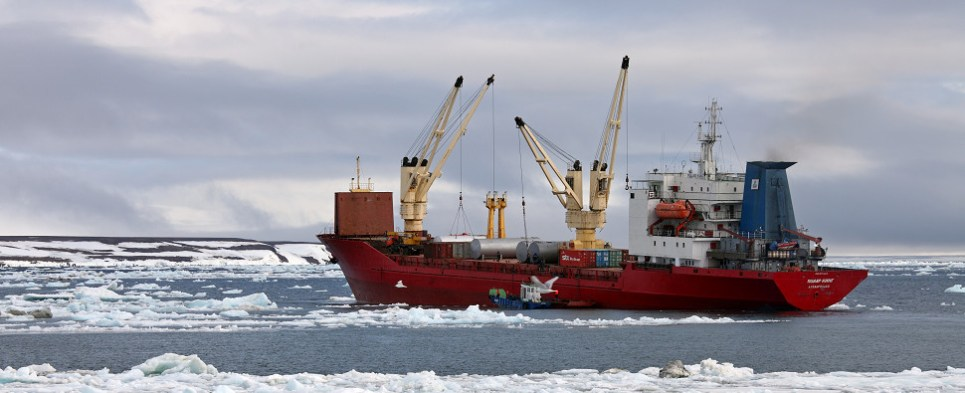 Infrastructure improvements are required before the Arctic can handle more shipments of export cargo and import cargo in international trade.