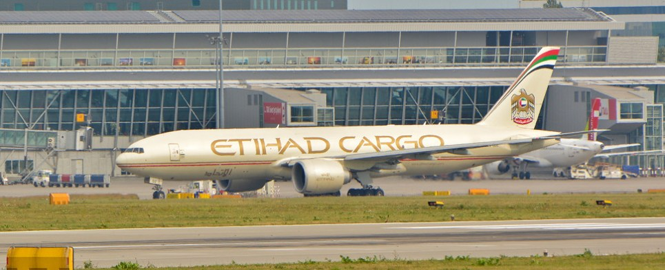 Etihad seeking to carry more shipments of export cargo and import cargo in international trade.