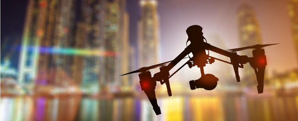 Drones are being deployed fro final deliveries of shipments of export cargo and import cargo in international trade.