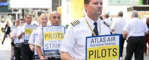 Atlas Pilots Protest at NASDAQ While Company Holds Investor Day