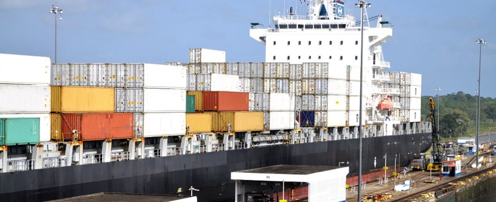 Larger ships in Panama Canal trades will carry more shipments of export cargo and import cargo in international trade.