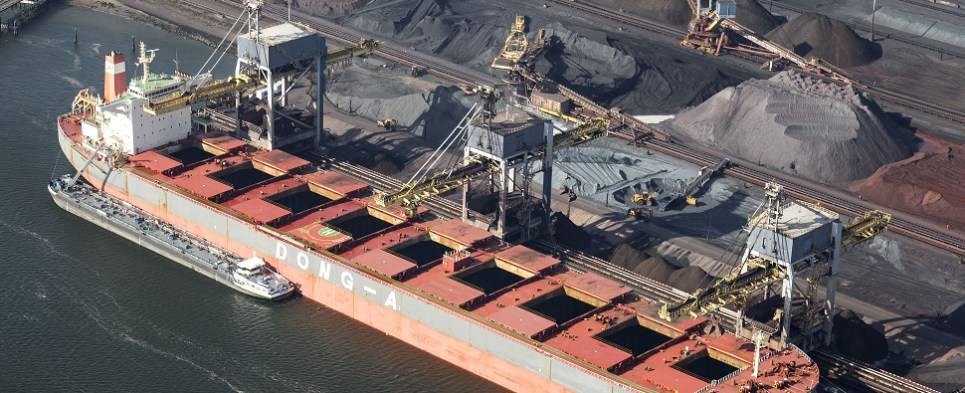 Oakland terminal would handle shipments of export cargo and import cargo in international trade.