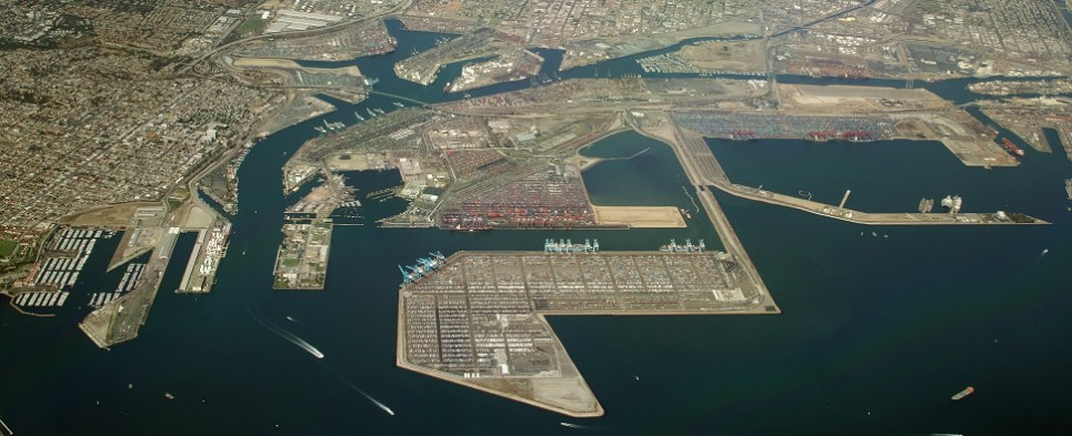 Southern California ports in May both handled more shipments of export cargo and import cargo in international trade.
