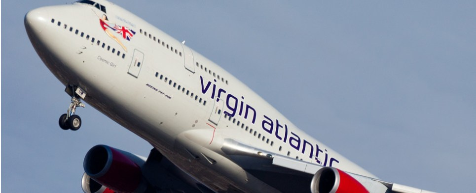 Virgin-Delta combination handles air shipments of export cargo and import cargo in international trade.