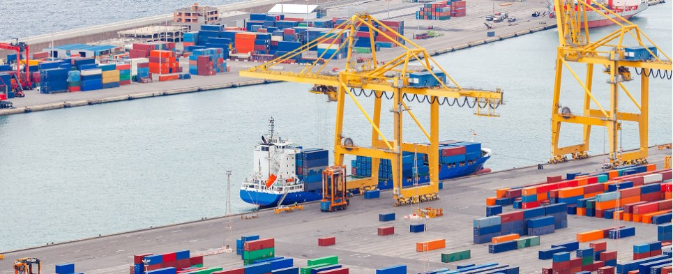 Liner shipping services carry container shipments of export cargo and import cargo in international trade.