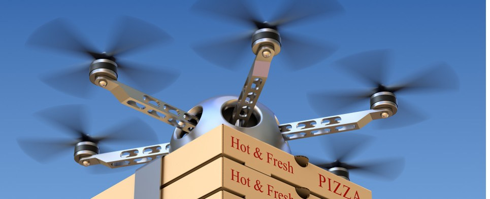 Drones are emerging as last-mile system for deliveries of some shipments of export cargo and import cargo in international trade.