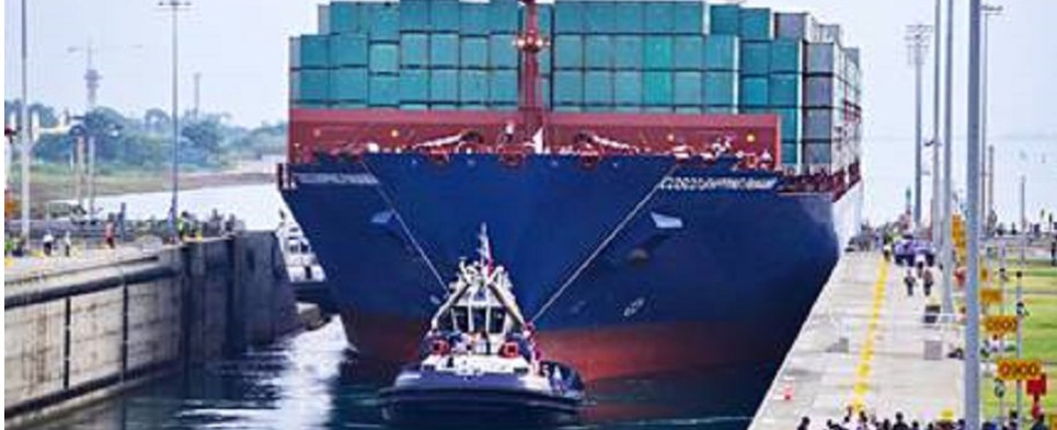 Panama Canal expansion allows the waterway to handle more shipments of export cargo and import cargo in international trade.