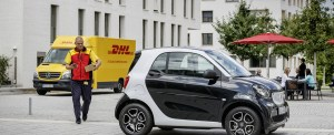 DHL Now Delivers Parcels to Smart Car Trunks
