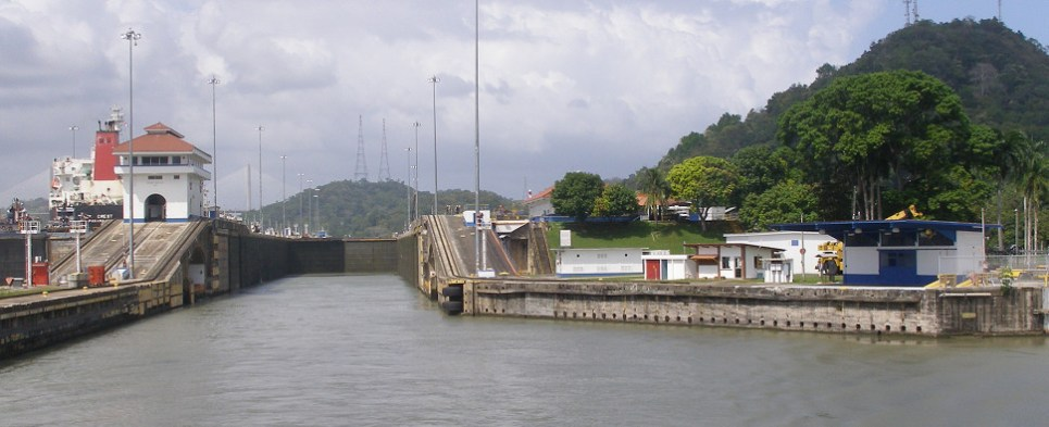 Panama Canal was expanded to handle more shipments of export cargo and import cargo in international trade.
