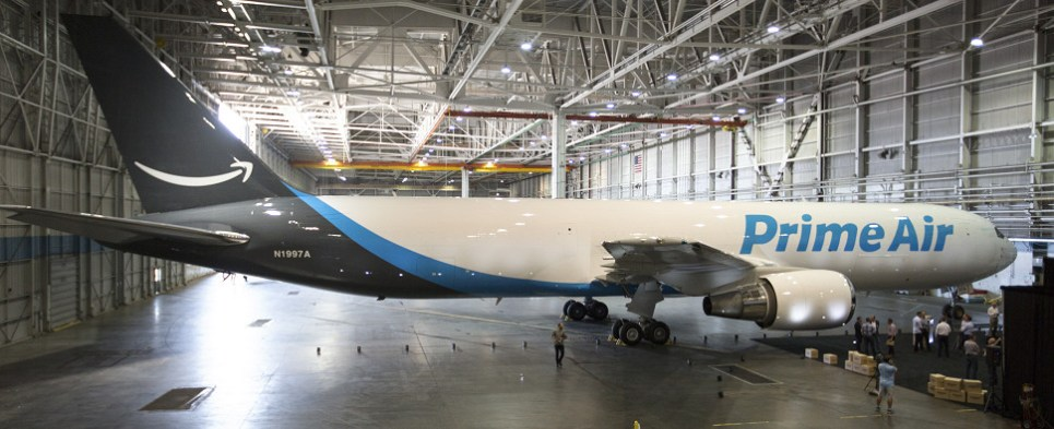 Amazon is using dedicated air fleet to move shipments of export cargo and import cargo in international trade.