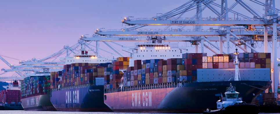 California plan seeks to improve effciency of freight system which carries shipments of export cargo and import cargo in international trade.