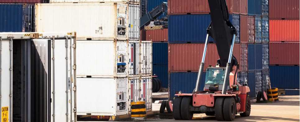 INTTRA electronically books container shipments of export cargo and import cargo in international trade.