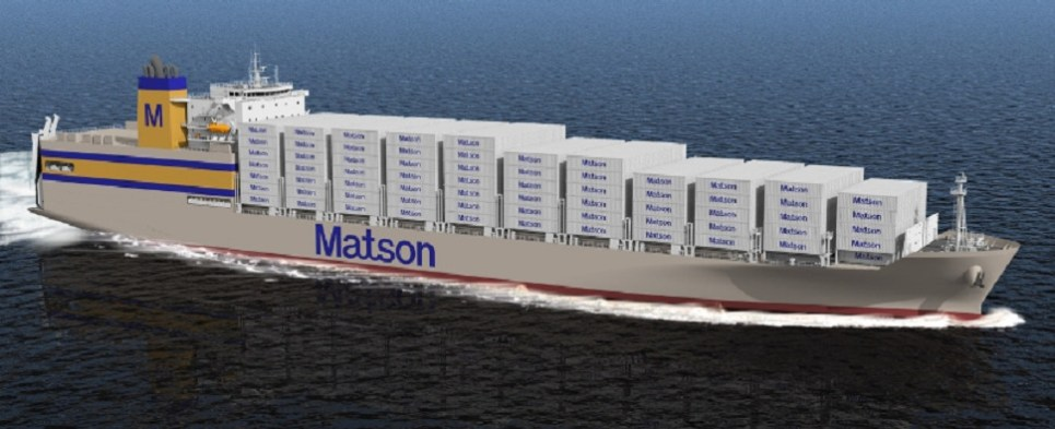 Matson ordered new ships to carry more shipments of export cargo and import cargo in international trade.