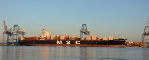 First Neopanamax Vessel Calls Port of Philadelphia