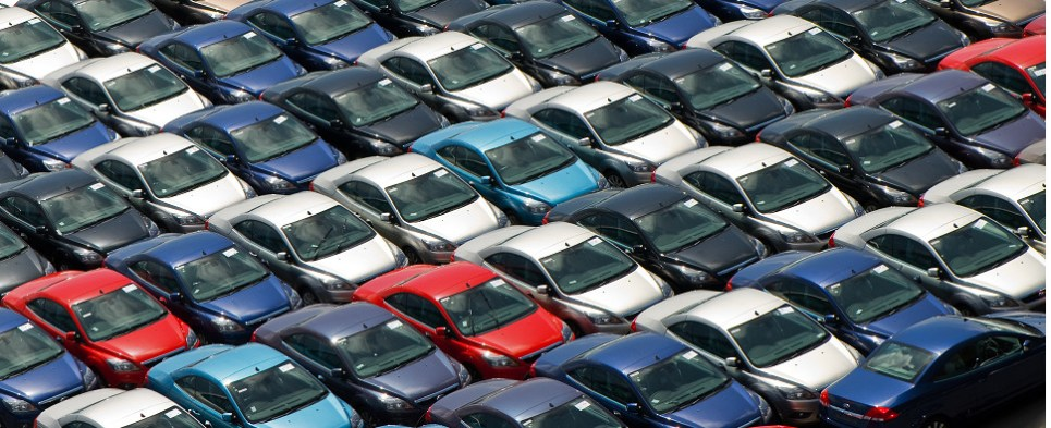 Growing car sales means more shipments of export cargo and import cargo in international trade.