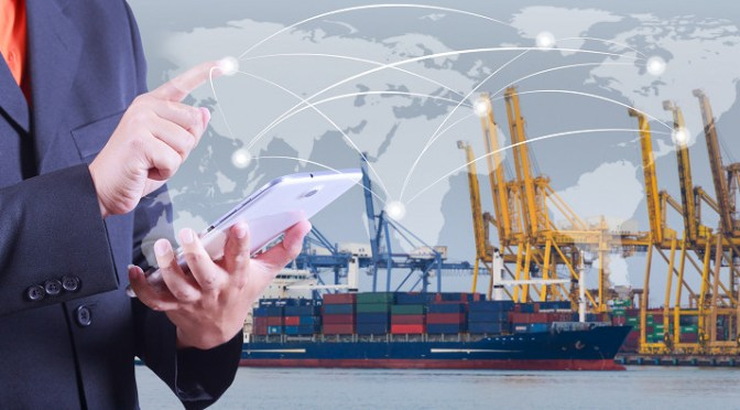 Technology is aiding in the movement of shipments of export cargo and import cargo in international trade.