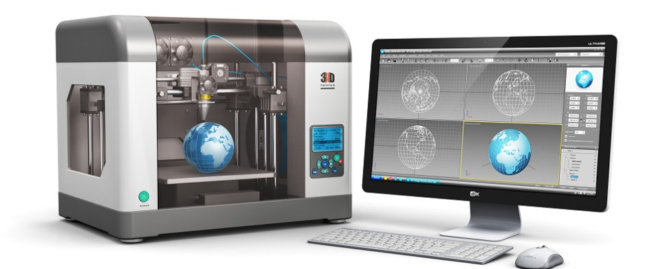 Manufacture can use 3D printing to reduce costs of shipments of export cargo and import cargo in international trade.