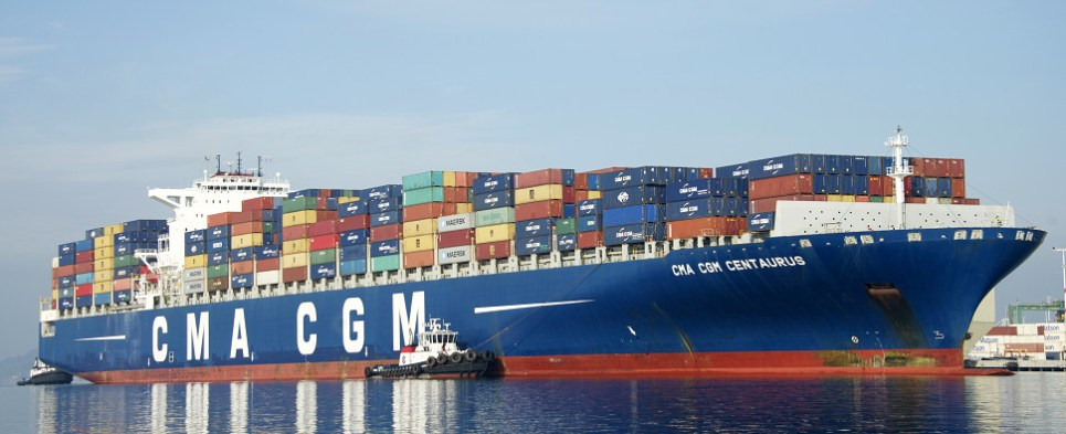 CMA CGM expploring the use of liquefied natural gas on vessels carrying shipments of export cargo and import cargo in international trade.