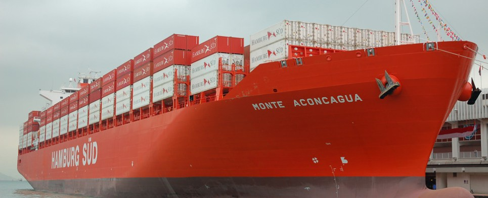 Port of Philadelphia handling Brazilian beef shipments of export cargo and import cargo in international trade.