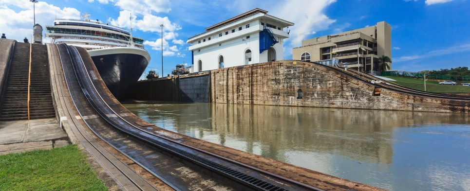Expanded Panama Canal carries more shipments of export cargo and import cargo in international trade.