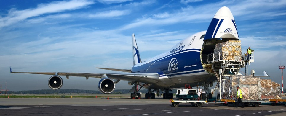 ABC service to Lonfdon Heathrow will be delivering shipments of export cargo and import cargo in international trade.