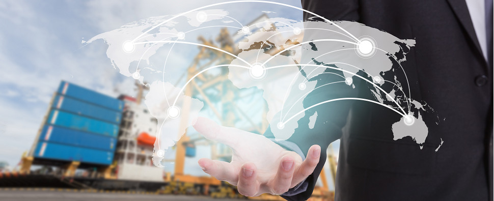 Technology powers the logistics of shipments of export cargo and import cargo in international trade.