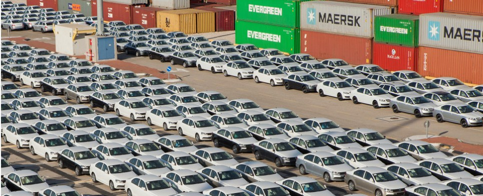 Logistics business will be handling auto shipments of export cargo and import cargo in international trade.
