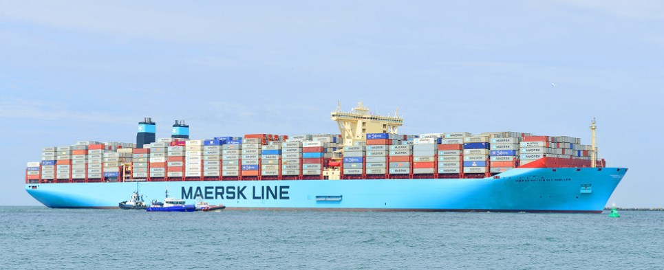 Maersk and ports are measuring emissions associated with shipments of export cargo and import cargo in international trade.