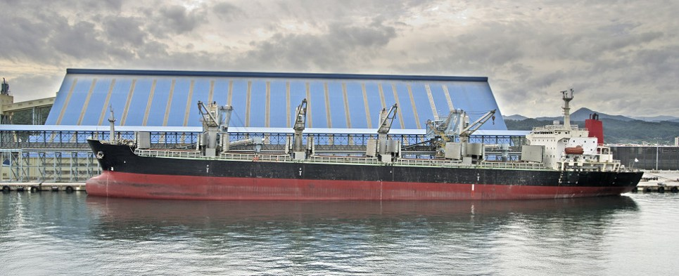 Korea Line will be carrying container shipments of export cargo and import cargo in international trade.