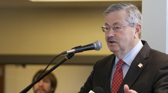 Appointment of Branstad as ambassador to China signals a continued flow of shipments of export cargo and import cargo in international trade between China and the US, as opposed to a trade war.