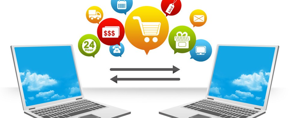 Key technoloigies for online retailers to manage sales and shipments of export cargo and import cargo in international trade.