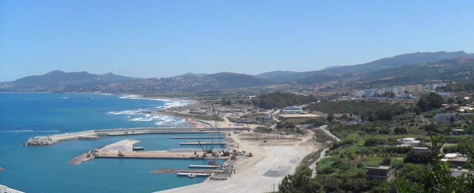 New port will allow Algeria to handle more shipments of export cargo and import cargo in international trade.