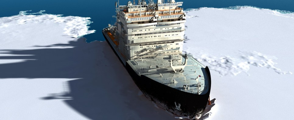 Icebreakers are important to Arctic shipments of export cargo and import cargo in international trade.