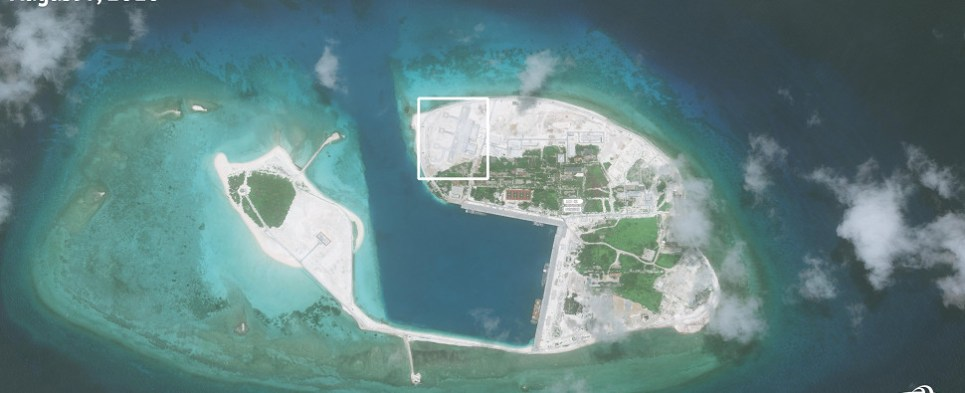 China's buildupin the South China Sea could impact shipments of export cargo and import cargo in international trade.