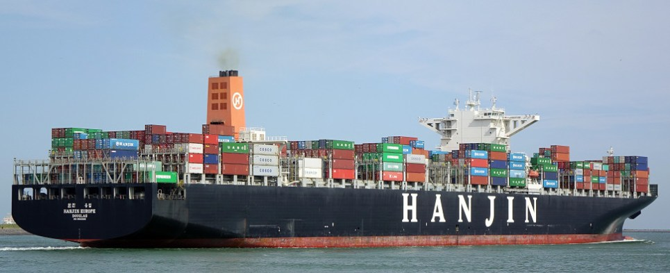 Most ex-Hanjin vessels are not currently carrying shipments of export cargo and import cargo in international trade.