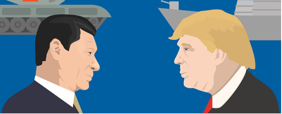 Commentary on how Trump will deal with disputes with China over shipments of export cargo and import cargo in international trade.