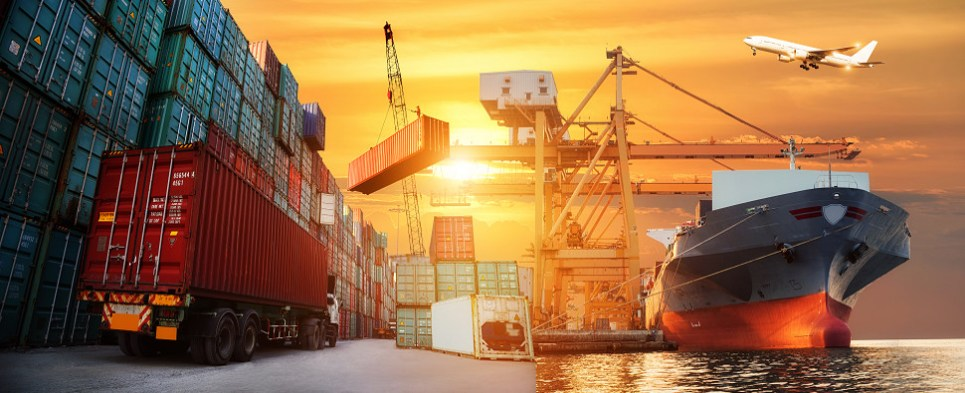 Jobs are supported by more shipments of export cargo and import cargo in international trade.