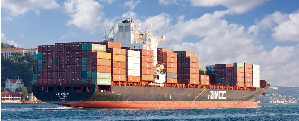 AApp estimates emissions of vessels carrying hipments of export cargo and import cargo in international trade.