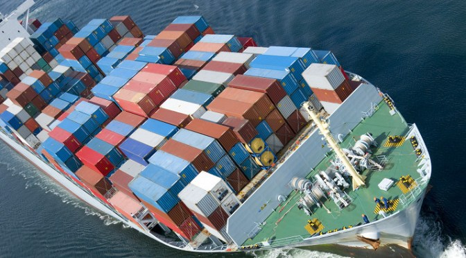 Alliance shipping companies carry most ocean cotnainer shipments of export cargo and import cargo in international trade.