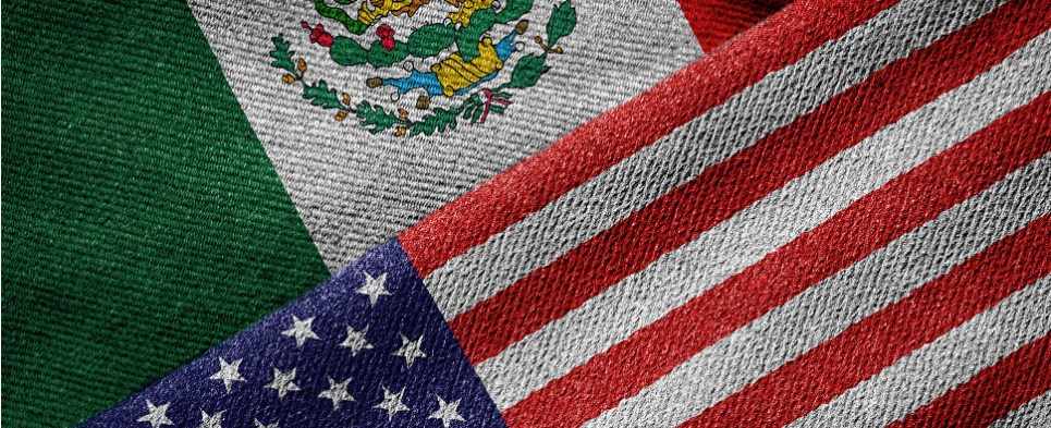 The US and Mexico share growing volumes of shipments of export cargo and import cargo in international trade.
