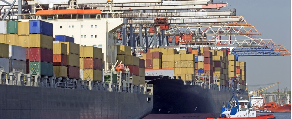 Container carriers enter into alliances to carry more shipments of export cargo and import cargo in international trade.