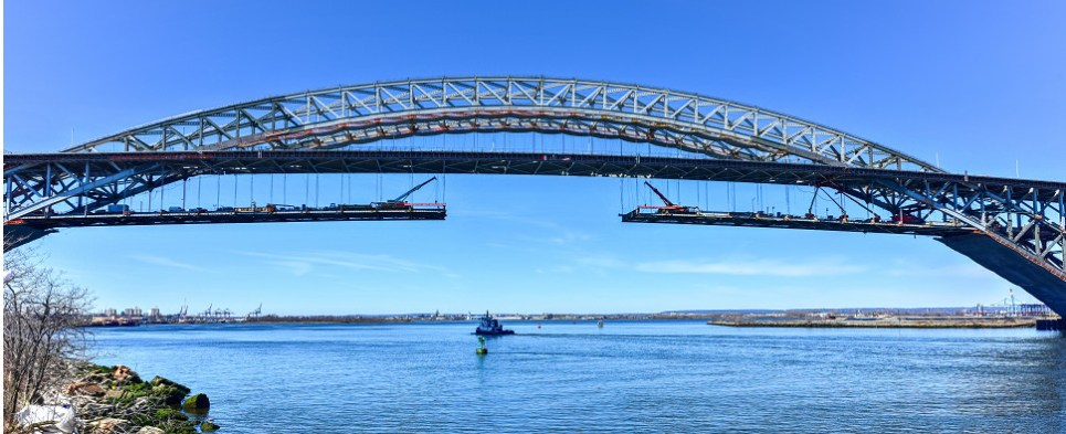 Raising of Bayonne Bridge will allow port to handle more shipments of export cargo and import cargo in international trade.