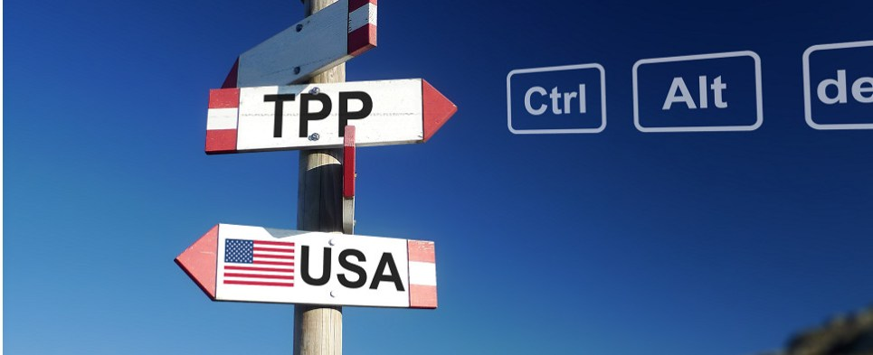 TPP could continue as an agreement that governs shipments of export cargo and import cargo in international trade.