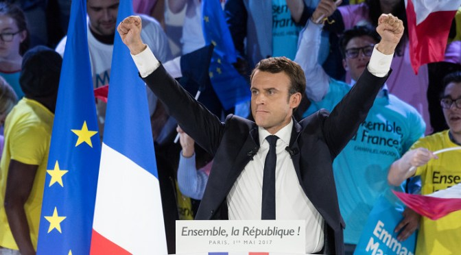 Macron's victory in France could mean more shipments of export cargo and import cargo in international trade.