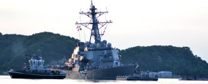 US Navy Begins Investigation Into Fatal Collision With Cargo Ship