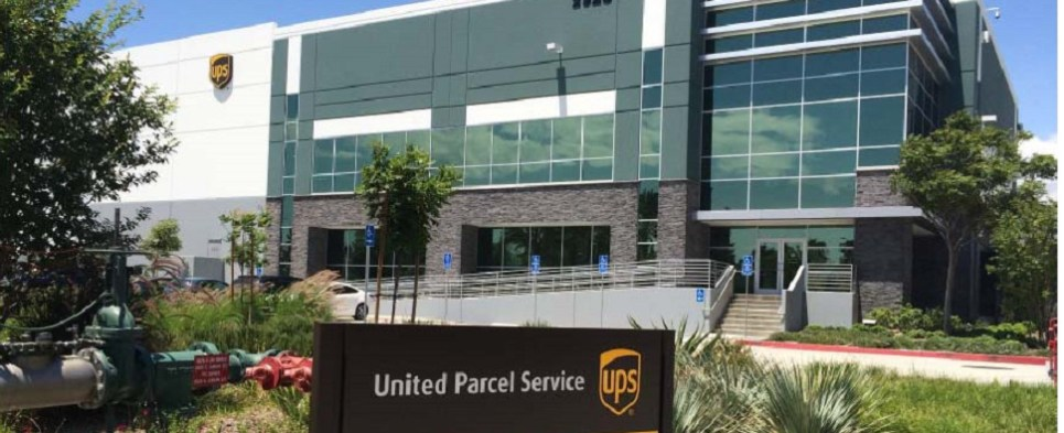 New UPS facility to process shipments of export cargo and import cargo in international trade.