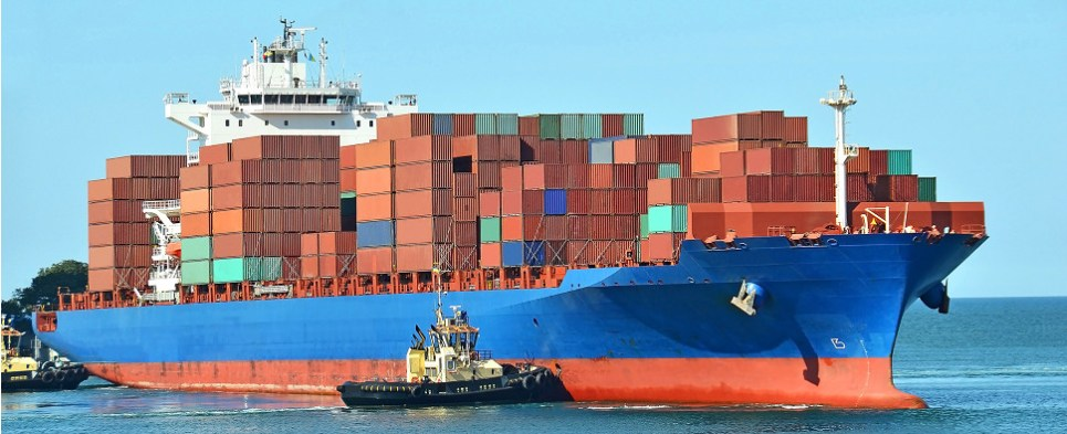 The port of Virginia is handling more shipments of export cargo and import cargo in international trade.
