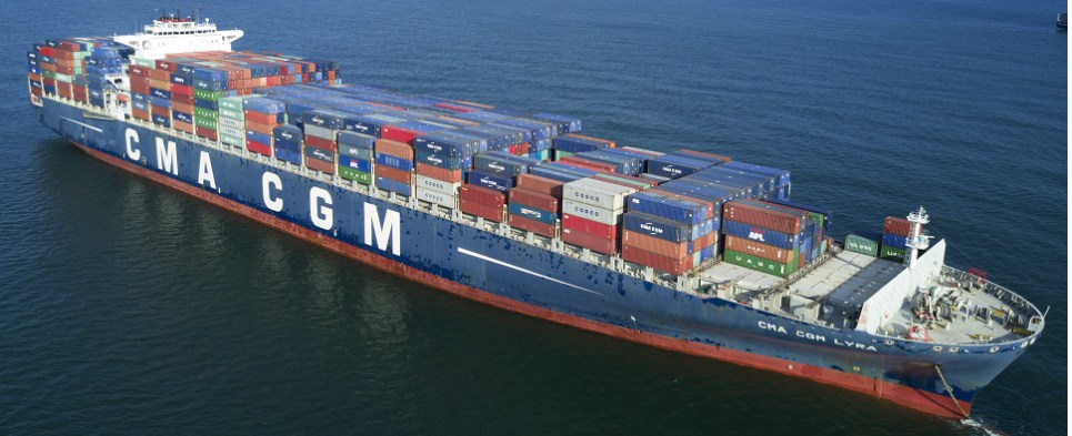 With acquisition of NOL, CMA CGM has been carrying more shipments of export cargo and import cargo in international trade.