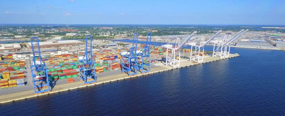 Port of Baltimore handled more shipments of export cargo and import cargo in international trade.