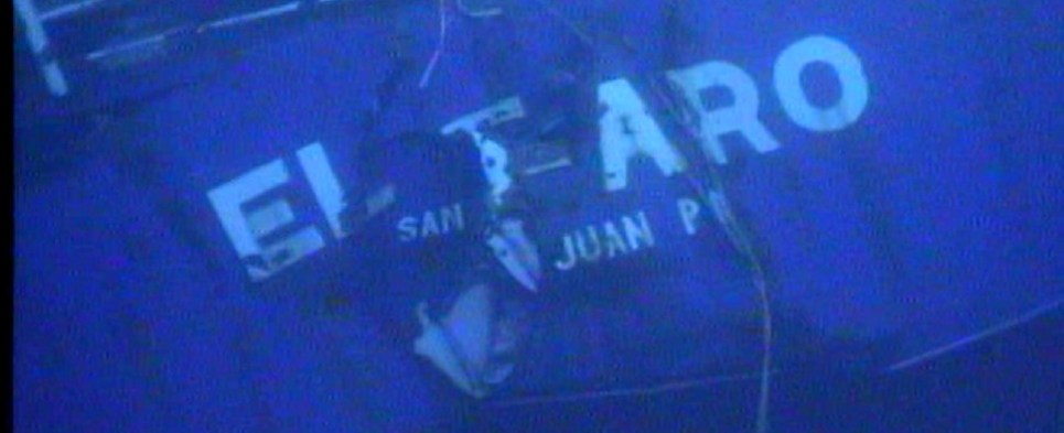 El Faro was carrying shipments of export cargo and import cargo in international trade.